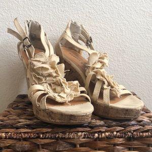 Madden Girl Clover Wedge Sandal